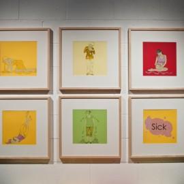 Sick Prints by Tonja Torgerson (photo by Ted Salzman)