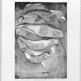 Course: Special Topics in 2D, Printmaking Processes- Project: Intaglio, etching with aqautint