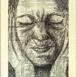 Course: Special Topics in 2D, Printmaking Processes- Project: Polyester Plate Lithography