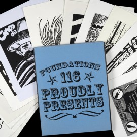 Course: Special Topics in 2D, Printmaking Processes- Project: Relief Print Exchange Porfolio