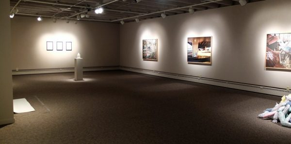 Plagued exhibition at Sleeth in 2014